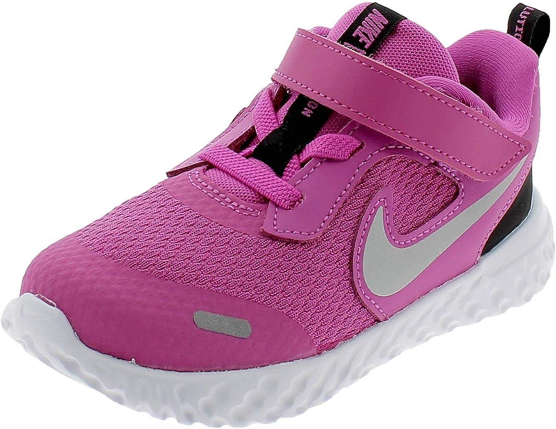 Nike unisex-baby baby-boys Nike Revolution 5 Toddler Velcro