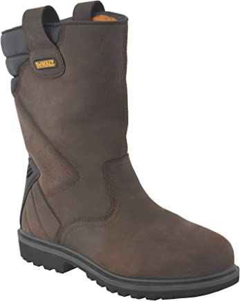 DEWALT DWF-50071-121 Safety Rigger Boot - Brown : boots