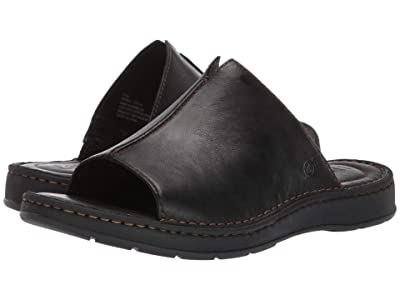 Born Klamath (Black Full Grain Leather) Men