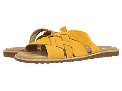 SOREL Ellatm Slide (Golden Yellow) Women
