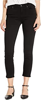 7 For All Mankind Womens Kimmie Crop Jean