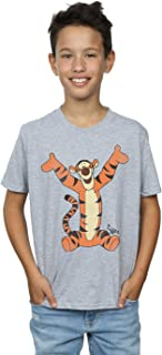 Winnie Pooh Bear Tigger Boys LS Tshirt top t-shirt Skivie kids girl new cotton