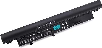 vhbw Akku passend f r Acer TravelMate 8471 Serien  8471-353G25Mn Laptop Notebook  Li-Ion  4400mAh  11 1V  48 84Wh  schwarz