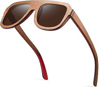 8cf04a3bf2 Amazon.ca  Wood - Sunglasses   Sunglasses   Eyewear  Clothing ...