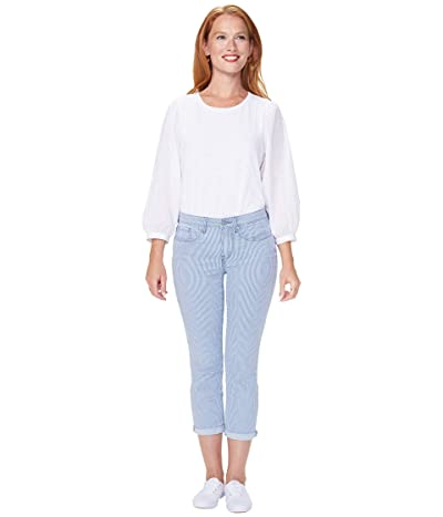 NYDJ Petite Petite Chloe Capri Jeans in Trella (Trella) Women