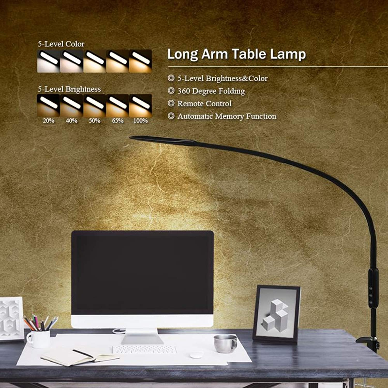 Schlafzimmer Studie Lampe LED Leselampe Wandlampe 16W, Weiß, Bi