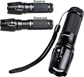 Prosvet 878 Tactical Flashlight Military Grade Led Flashlight - Water Resistant Tac Light - 5 Modes-Zommable