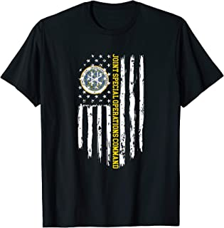 Joint Special Operations Command (JSOC) American Flag T-Shirt