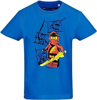 Lego Ninjago T-shirt voor jongens, blauw, ninja