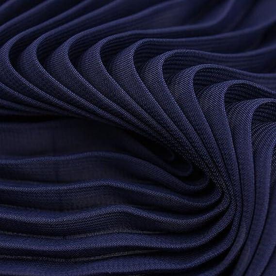 1M DIY Sewing Soft Pleated Chiffon Fabric Craft Material Dress ...