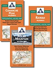 Ft Collins Area Backpacking Map Pack - Comanche Peak, Rawah, Rocky Mountain National Park