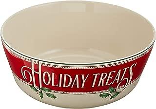 Lenox 879356 Vintage Treats Serving Bowl, Multicolor