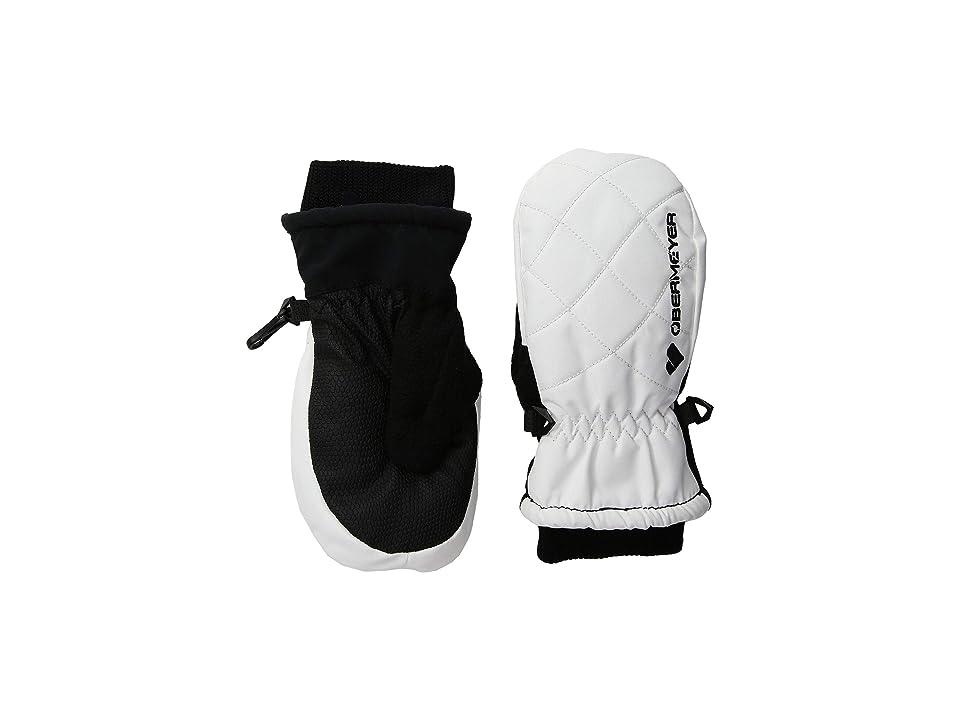 Obermeyer Kids Puffy Down Mitten (Little Kids/Big Kids) (White) Extreme Cold Weather Gloves