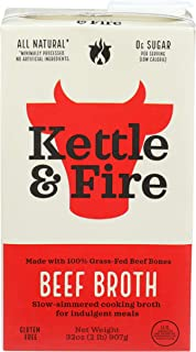 KETTLE & FIRE Beef Broth, 32 OZ