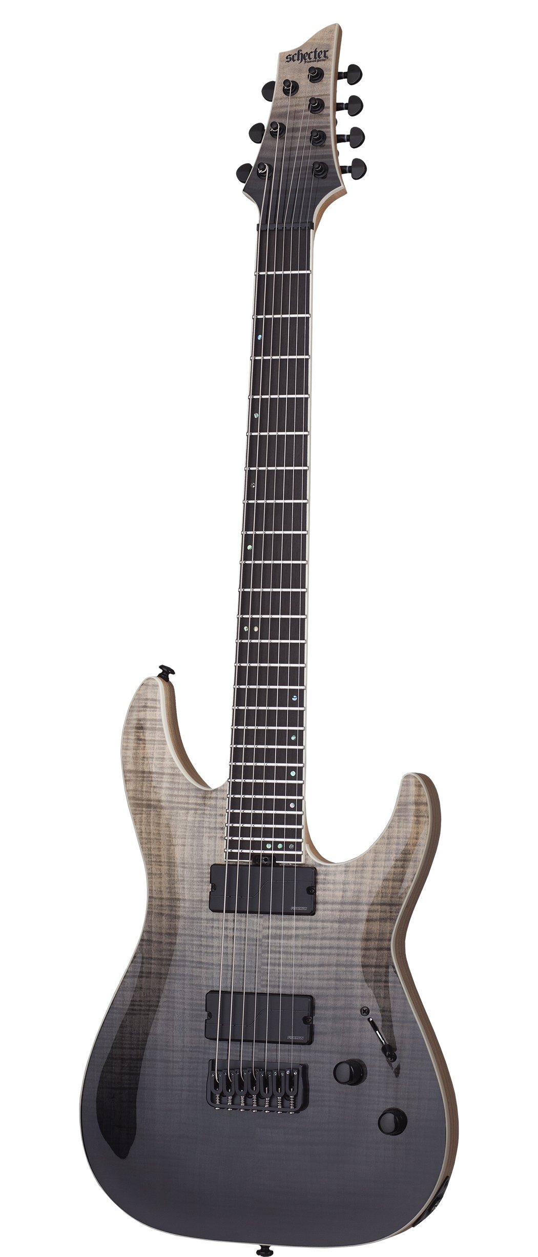Cheap Schecter 7 String Solid-Body Electric Guitar Black Fade Burst (1355) Black Friday & Cyber Monday 2019