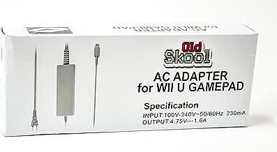 Old Skool Power AC Adapter for Nintendo Wii U GamePad