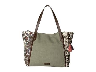 Sakroots Montero Tote (Pastel Spirit Desert) Tote Handbags