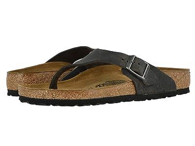 Birkenstock Como (Camberra Iron Oiled Leather) Men