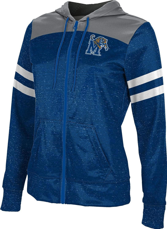 ProSphere University of Memphis Girls' Zipper Hoodie, School Spirit Sweatshirt (Gameday)