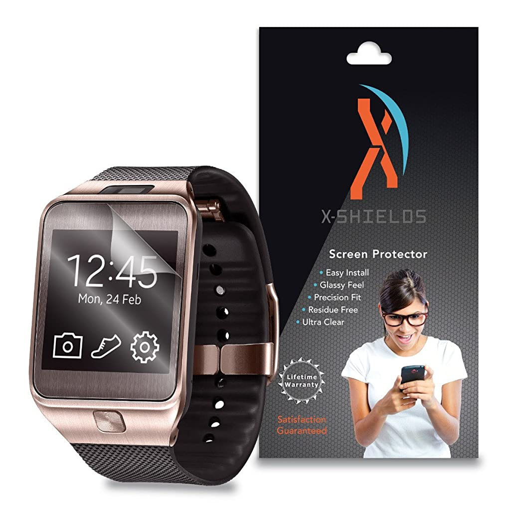 XShields? (4-Pack) Screen Protectors for Samsung Gear 2 Smartwatch (Ultra Clear)
