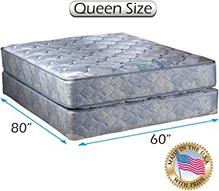 Dream Solutions USA Chiro Premier Gentle Firm Orthopedic (Blue Color) Queen Size 60