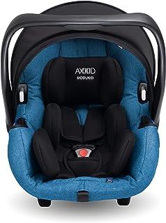 AXKID MODUKID INFANT Silla de Coche Grupo 0 y 1, Asiento de Automóvil para Niños de 0-13 Kg, Sillita para Coche, Silla de Coche de Bebé de 0 Meses hasta 1 Año (Azul)