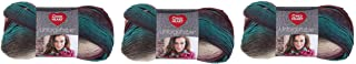 Red Heart E793-3952 Tealberry Unforgettable Yarn (3 Pack)
