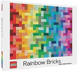 Lego Rainbow Bricks 1000 Piece Puzzle