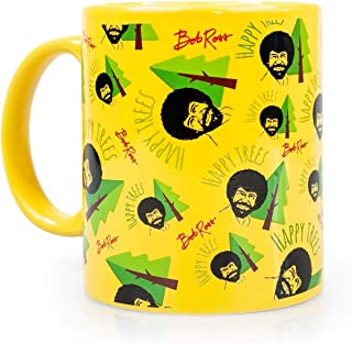 Surreal Entertainment Bob Ross Happy Trees Mug