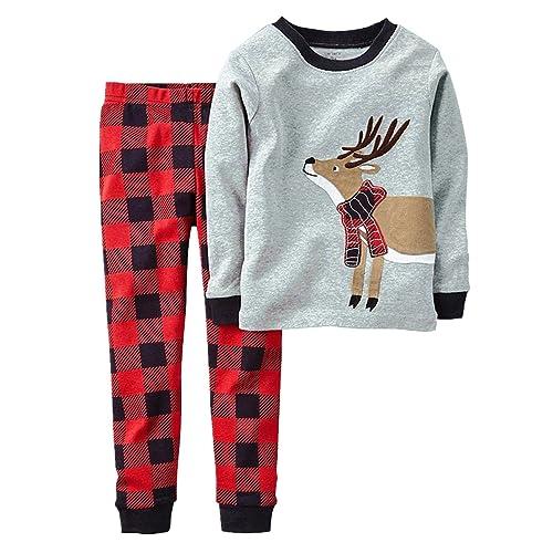 Toddler Boy Christmas Pajamas.Boy Christmas Pyjamas Amazon Co Uk