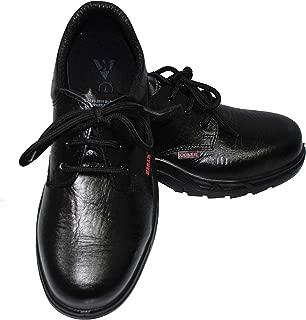 Karam Leather Safety Shoes FS-05 - Size 6, Black
