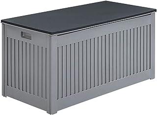 Gardeon 290L Outdoor Storage Box Bench Seat Lockable Waterproof for Garden and Toy