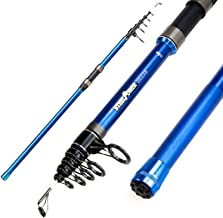 DAM Steelpower Blue Tele Surf, Telescopic Surfcasting Fishing Rod, Model 2018