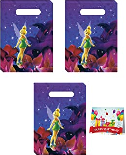 Tinkerbell Birthday Party Favor Treat Bags Bundle Pack of 24