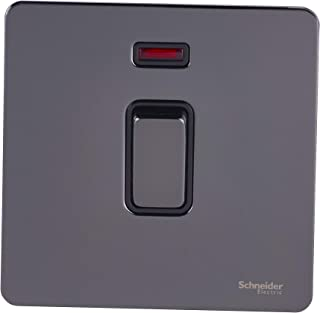 Schneider Electric GU4431BBN interruptor eléctrico Negro - Accesorio cuchillo eléctrico (Negro, IP20, 32 A, 88 mm, 88 mm)