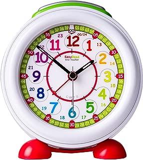 EasyRead Time Teacher Children's Alarm Clock with Night Light, 12 & 24 Hour Time, Rainbow Clock Face
