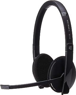 Sennheiser SC 160 USB (508315) - Auriculares de doble cara (binaural) para profesionales de negocios | con sonido estéreo ...