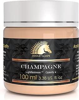 Acrylic Paint - 100ml - Artists' Quality - MyArtscape (Champagne)