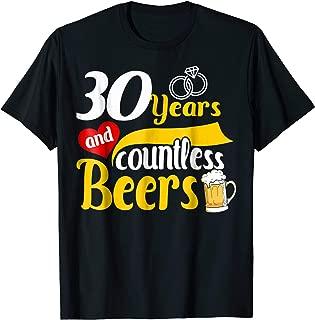 30th Year Wedding Anniversary Gift - 30 Anniversary T-Shirt