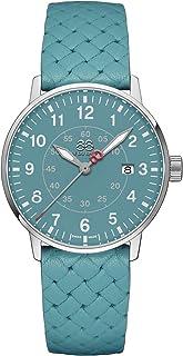 88 Rue du Rhone - Reloj de cuarzo suizo Newold Collection para mujer 87WA183004 con esfera verde
