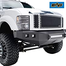 EAG Rivet Black Stainless Steel Wire Mesh Grill Fit for 08-10 Ford Super Duty F250/F350/F450/F550