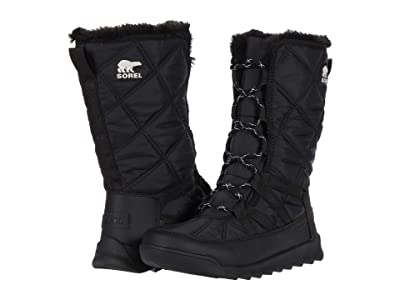 SOREL Whitney Tall Lace II (Black 1) Women