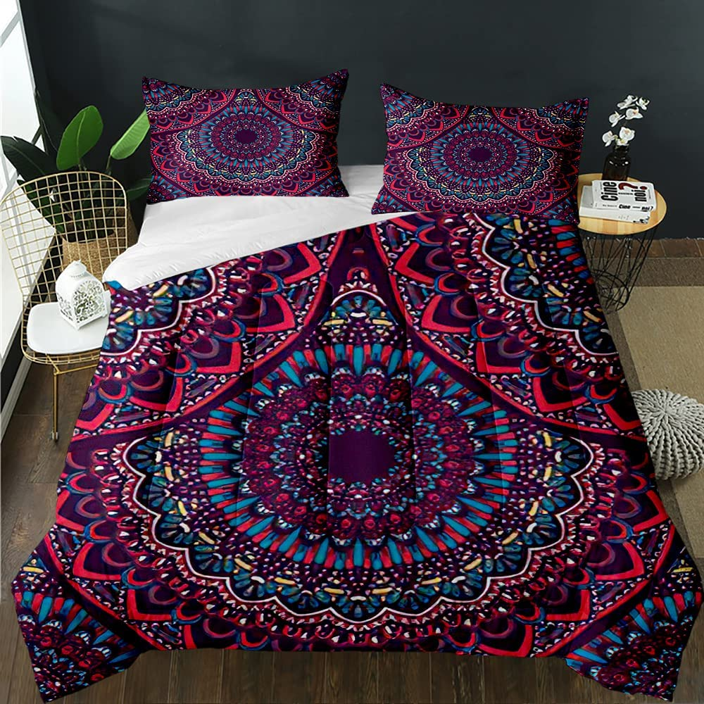 FRFFASHION The Price reduction Mandala Manufacturer regenerated product Comforter Set Tribal Abstra Ethnic Indian