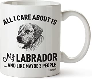 Labrador Mom Gifts Mug For Christmas Women Men Dad Decor Lover Decorations Stuff I Love Lab Coffee Accessories Talking Art Apparel Funny Birthday Gift Home Supplies Products Dog Coffee Cup Mugs