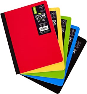 Pen + Gear 5 Pack Poly Composition Notebook, 9-3/4