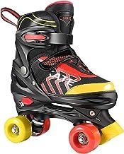 Hikole Rollschuhe für Kinder Roller Skates für Anfänger größenverstellbare (Größe..