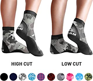 'Storm' Ultra Stretch Lycra Fin Socks for Water Sports & Beach Activities