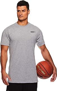 AND1 Men`s Performance Basketball Tee - Short Sleeve Gym & Training Activewear T Shirt