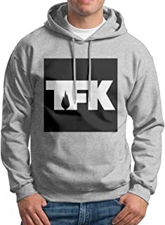 Men Hot Rock Band Thousand Foot Krutch Pullover Hooded Sweatshirt