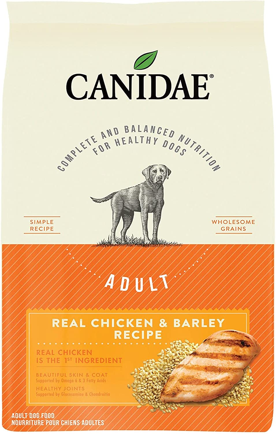 CANIDAE Real Special price for a limited time Chicken Arlington Mall Barley Dry Dog LB Food Bag LBS 25